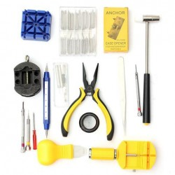 19st Watch Repair Tool Set Watch Band Remover Holder Case Opener