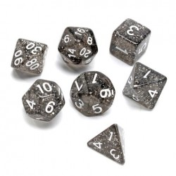 7 Pcs TRPG Polyhedral Dice RPG Dice Set Gadget With Bag