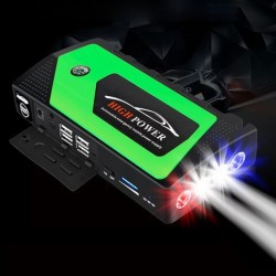 100-240V 68800mAh Multifunctionele Power Bank LED-licht Draagbare Auto Jump Starter Emergency