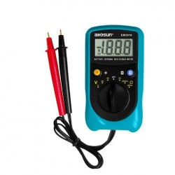 ALL SUN EM3610 Batterij Interne Weerstandsmeter Batterij Voltage Temperatuurcoëfficiënt Automotive Tester
