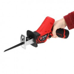 12V Electric Reciprocating Saw Reciprocating Sabre Cutting Pruning Saw Woodworking Metal Saws