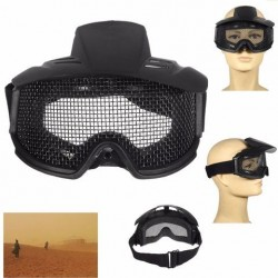 FJ-G007 CS Airsoft Explosieveilige Brillen Brillen Eyewear Eye Protection Mask Steel Mesh