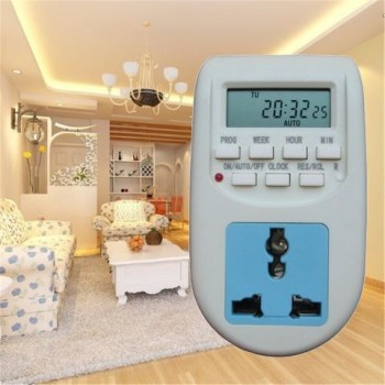 220V LCD Digitale Timer Socket Timing Outlet Switch Digitale Timer Switch Multifunctionele EU Plug