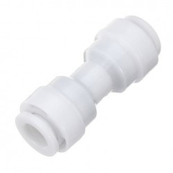 1/4 1/4 Inch Omgekeerde Osmose RO Tap Connector Druk Fit Pijp Water Filter Connector