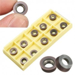 10pcs RPMW1003MO Milling Cutter Inserts RPMW1003MO-VP15TF Carbide Inzet Draaibare Inserts