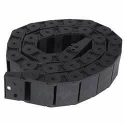 18mm x 37mm Openbare Plastic Kabel Drag Chain 1M Lange Wire Carrier Drag Chain
