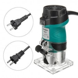110 V / 220 V 2200 W 30000 RMP 6.35mm Elektrische Hand Trimmer Hout Laminaat Palm Router Joiners Router