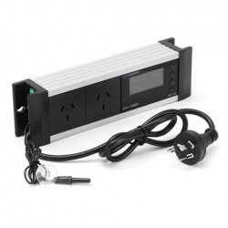 0 ~ 50 ℃ Koel / verwarmingsmodus Temperatuurregelaar Aquariumschakelaar Socket LCD-display US / EU / UK / AU-stekker