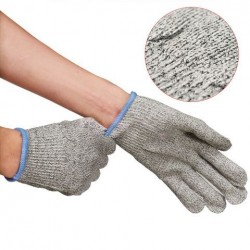 1 paar veiligheidsstap Anti-Slash Resistant Gloves Level 5 Protection