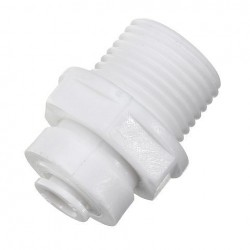 1/2 1/4 Inch RO Grade Waterpijp Snelkoppeling Onderdelen Montage Tube Fit Pijp Water Filter Connector