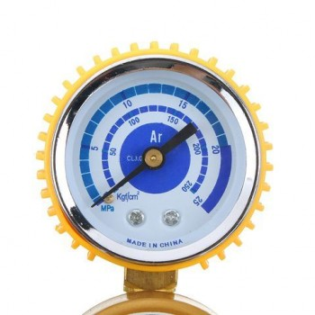 0-25 MPA Argon Meter Mig Flow Pressure Gauge Gas AR/CO2 Regulators Welding Weld