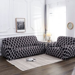 1/2/3/4 Seater Elastische fauteuilhoezen Hoes Settee Stretch Floral Couch Protector