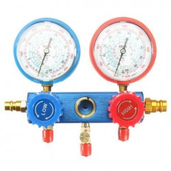 0-500PSI Diagnostische Testinstrument voor Air Conditioning Refrigerant Fluorine Table Gauge
