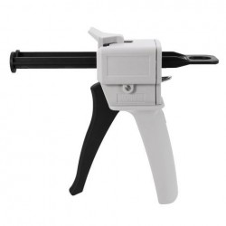 50ML AB Epoxy Lijm Gun Handle Spread Applicator geschikt voor Mixed 1: 1/2: 1 AB Lijm