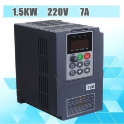 1.5KW 220V Eenfase-ingang 3-fase-uitgang PWM Frequentieomvormer Drive-omvormer