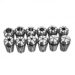 12Pcs 1/32-3/8 Inch ER16 Spring Collet Set for Engraving Machine Milling Tool
