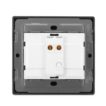 1/2/3 / 4Gang Wall Touch Switch Gehard Glas Panel LED Light Gratis Click Switch Control