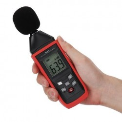 Decibel Meter Level Recorder Audio 30-130dB Geluidsmeting Geluidsniveau Detector Diagnostic Tool