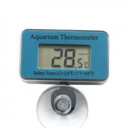 Aquarium Thermometer Dompelpomp Zeer nauwkeurige digitale waterbestendige thermometer AT-1