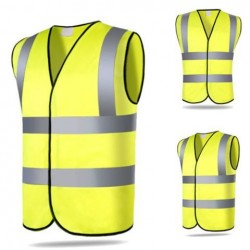 Safety Security Visibility Reflective Vest Construction Verkeer Magazijnmedewerker