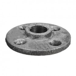 1/2 inch DN20 Cast Iron Steel Tube Pipe Floor Flens Pipe Montage Wall Mount