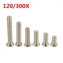 300 / 120st M3 RVS Knop Philip Head Socket Cap Screw Assortiment Kit