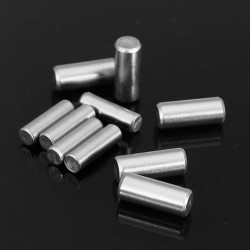 20pcs GB119 304 Cilindrische Pin Stainless Steel Pin Pin M3x10 / M4x10