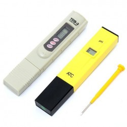 0-9999 PPM Digitale PH Meter TDS Tester Aquarium Pool Hydroponic Water Monitor