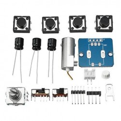 DSO150 Digital Electronic Oscilloscope Set With Housing Case Probe Fully DIY Assemble Tools Kit