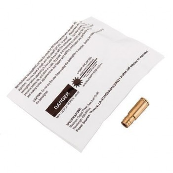 9MM laserboring Sighter Red Dot Sight Brass Cartridge Boresighter Calibre