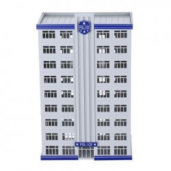 N Scale 1:150 Outland Police Department Headquarter Station Building Model