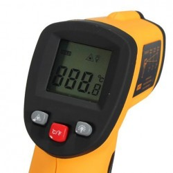 BENETECH GM550 Non Contact Digital IR Laser Infrarood Temperatuur Meter Pistool ThermoMetetester -50-550 ℃