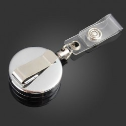3,2 cm Metalen gereedschapsgordel Retractable Key Ring Trek Kettingklem